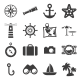 Sea and Beach icons - GraphicRiver Item for Sale