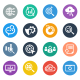 SEO Icons Circle  - GraphicRiver Item for Sale