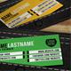 Black Corporate Leather Holder Card Design - GraphicRiver Item for Sale