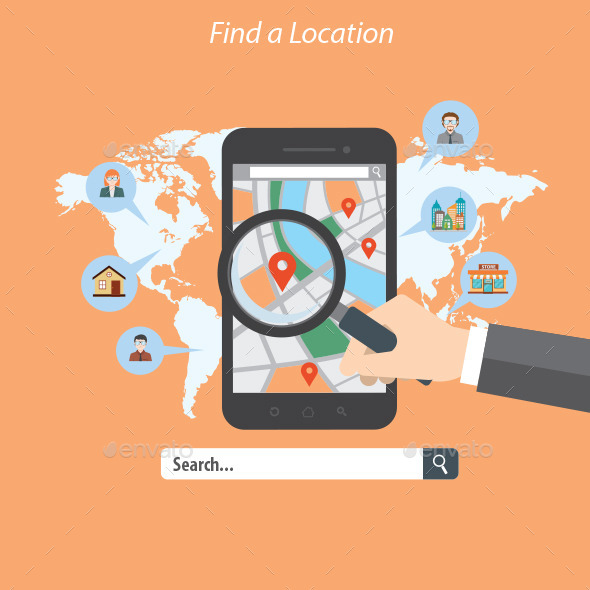 GraphicRiver Find a Location 10440420