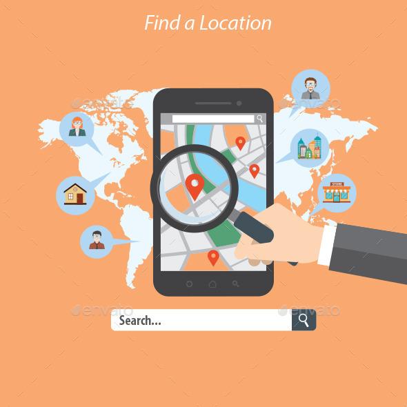 GraphicRiver Find a Location 10440420