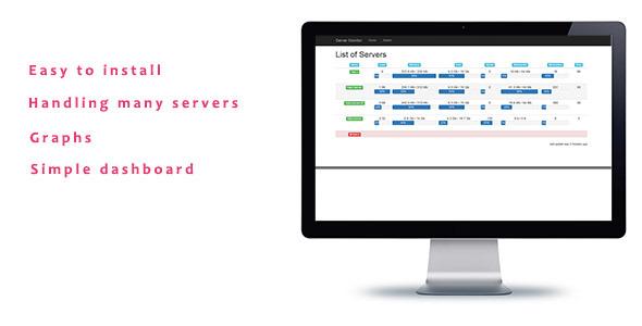 CodeCanyon Multi Server Monitor 10231551