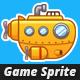 Submarine Game Sprites - GraphicRiver Item for Sale