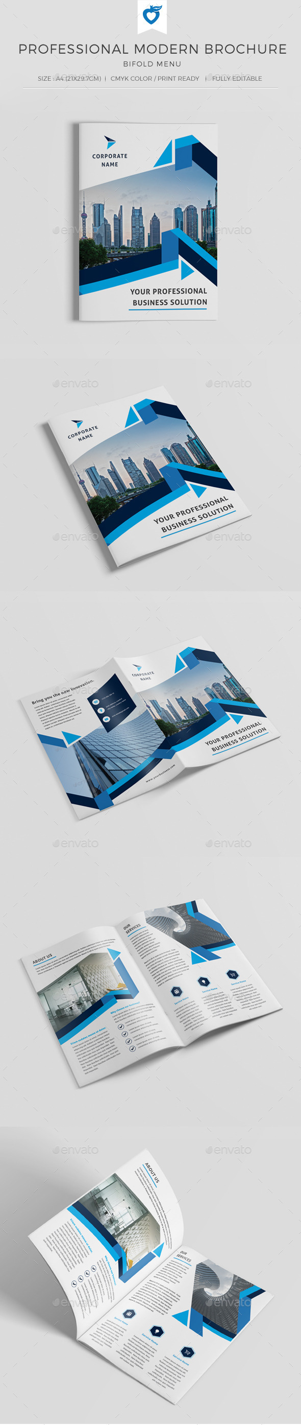 GraphicRiver Professional Modern Corporate Brochure 10440737