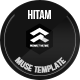 Hitam Onepage Muse Template - ThemeForest Item for Sale