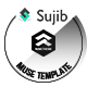 Sujib - Event Landing Page Muse Template - ThemeForest Item for Sale