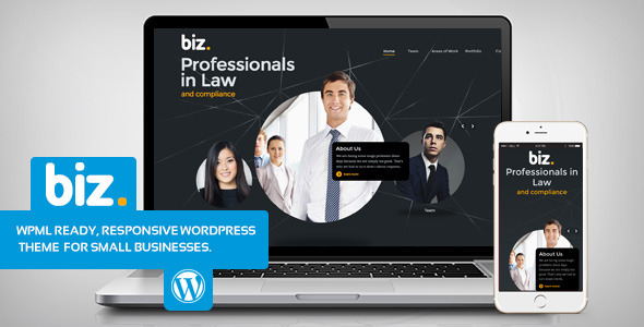 biz - Law & Business WordPress theme