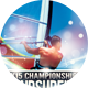 Windsurfing Championships Sports Flyer - GraphicRiver Item for Sale