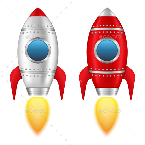 GraphicRiver Rockets 10441260