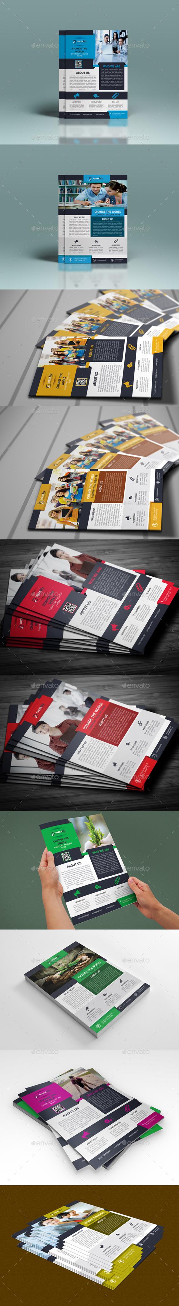 GraphicRiver Corporate Flyer Bundle 10441996