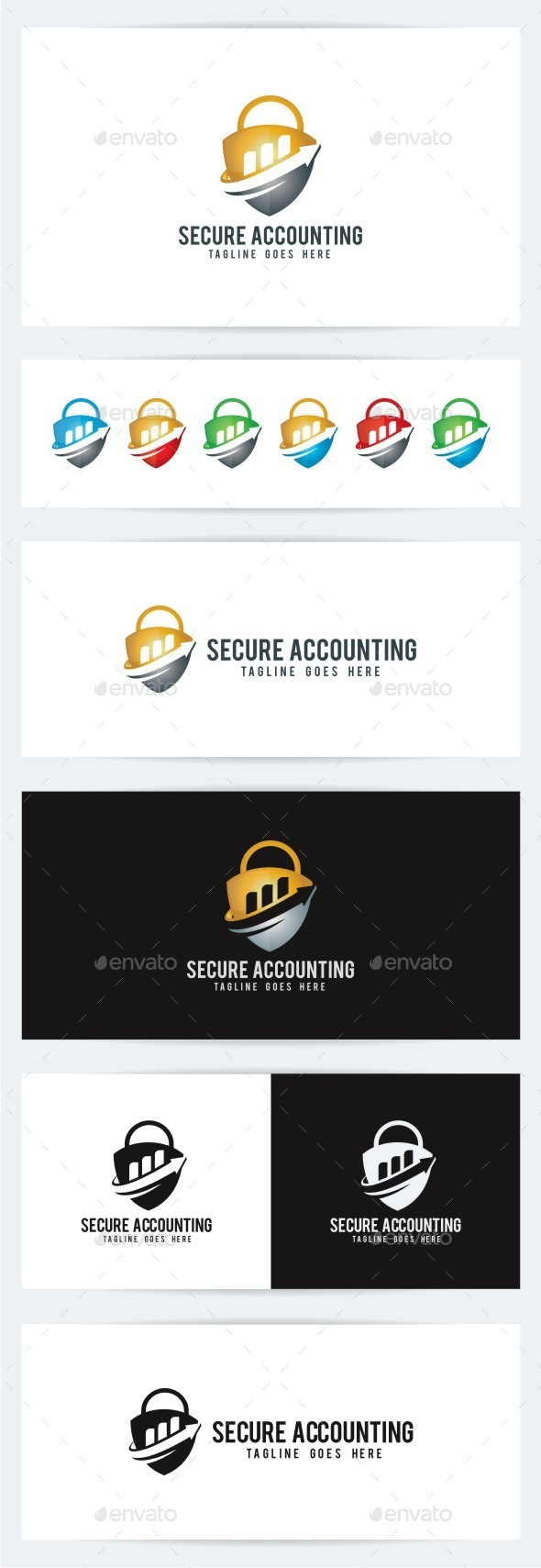 GraphicRiver Secure Accounting 10442008