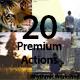 20 Premium High Quality Action