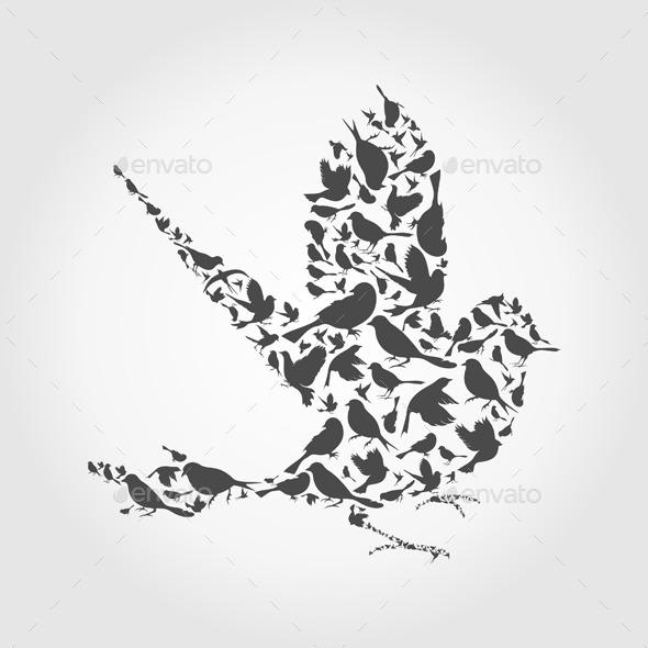 GraphicRiver Birds 10442134