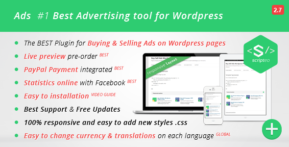 Download ADS - Modern WordPress Ad Plugin nulled download