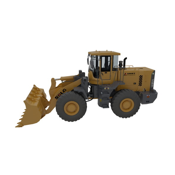 3DOcean Bulldozers Model and Rigging 10442724