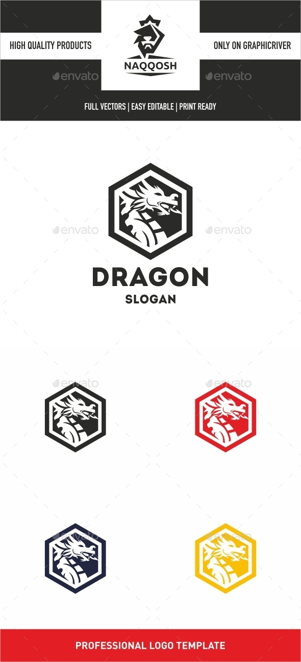 GraphicRiver Dragon Logo 10442761