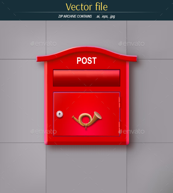 GraphicRiver The Mailbox on the Wall 10442794