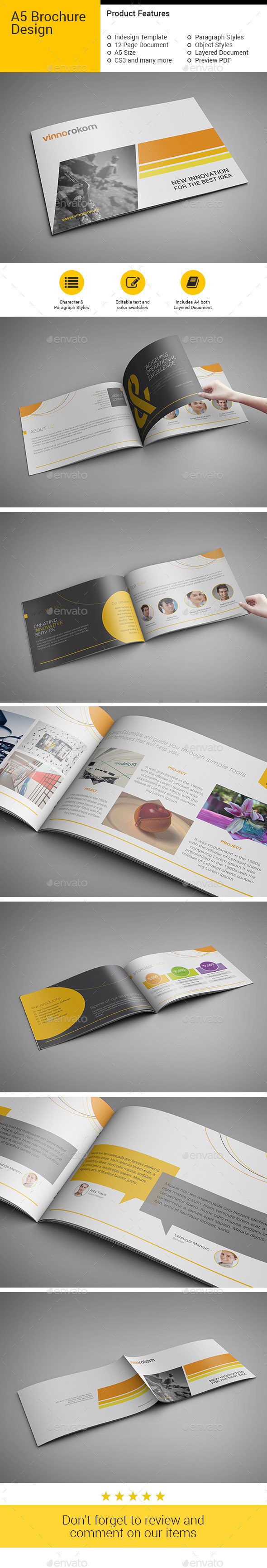 GraphicRiver A5 Brochure 10442796