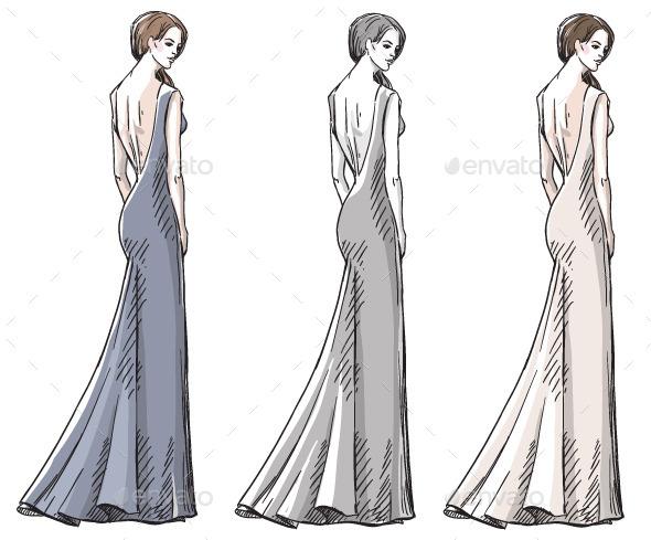 GraphicRiver Fashion Hand Drawn Illustration 10442841