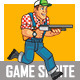 Red Neck Game Sprite - GraphicRiver Item for Sale
