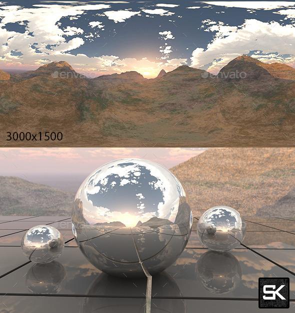 Hills - 3DOcean Item for Sale