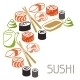 Background with Sushi - GraphicRiver Item for Sale
