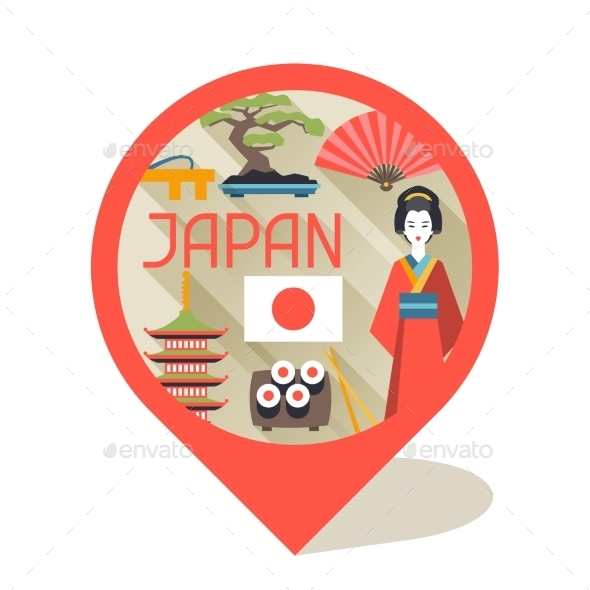 GraphicRiver Japan Background Design 10442973