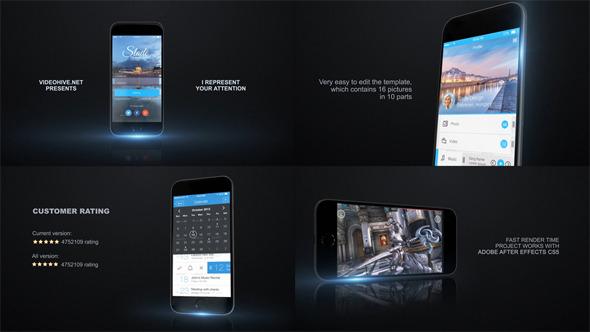 AE模板:商业游戏 手机应用程序开发 网络宣传促销展示E3D模板
