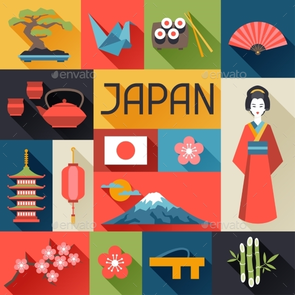GraphicRiver Japan Background Design 10442976
