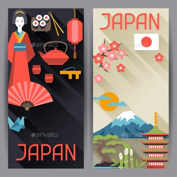 GraphicRiver Japan Banners Design 10442978