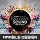 Explosive Sound Flyer - GraphicRiver Item for Sale