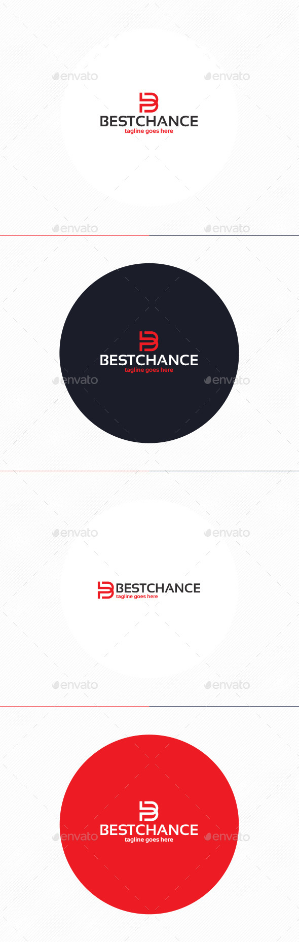 GraphicRiver Best Chance Logo Letter B 10443078