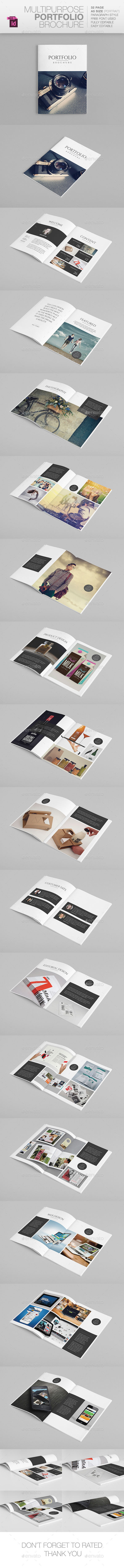 GraphicRiver Multipurpose A5 Portfolio 10443112