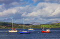 Boats in Gourock bay - PhotoDune Item for Sale