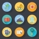 Travel Tourism Vacation Icons - GraphicRiver Item for Sale