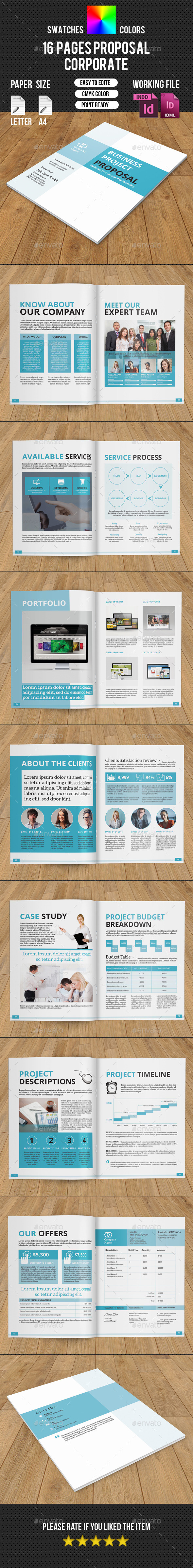 GraphicRiver Corporate Proposal-V196 10376674