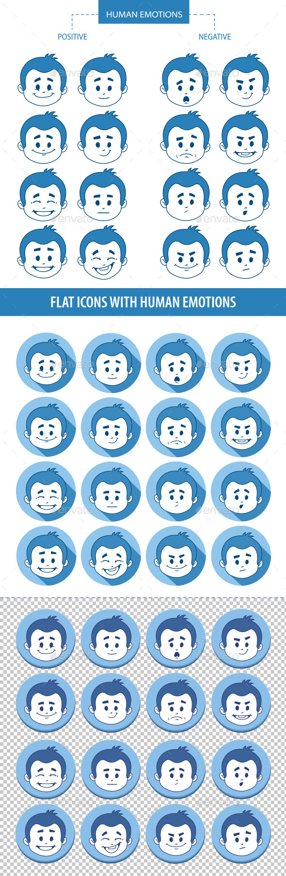 GraphicRiver People Facial Expressions 10443619
