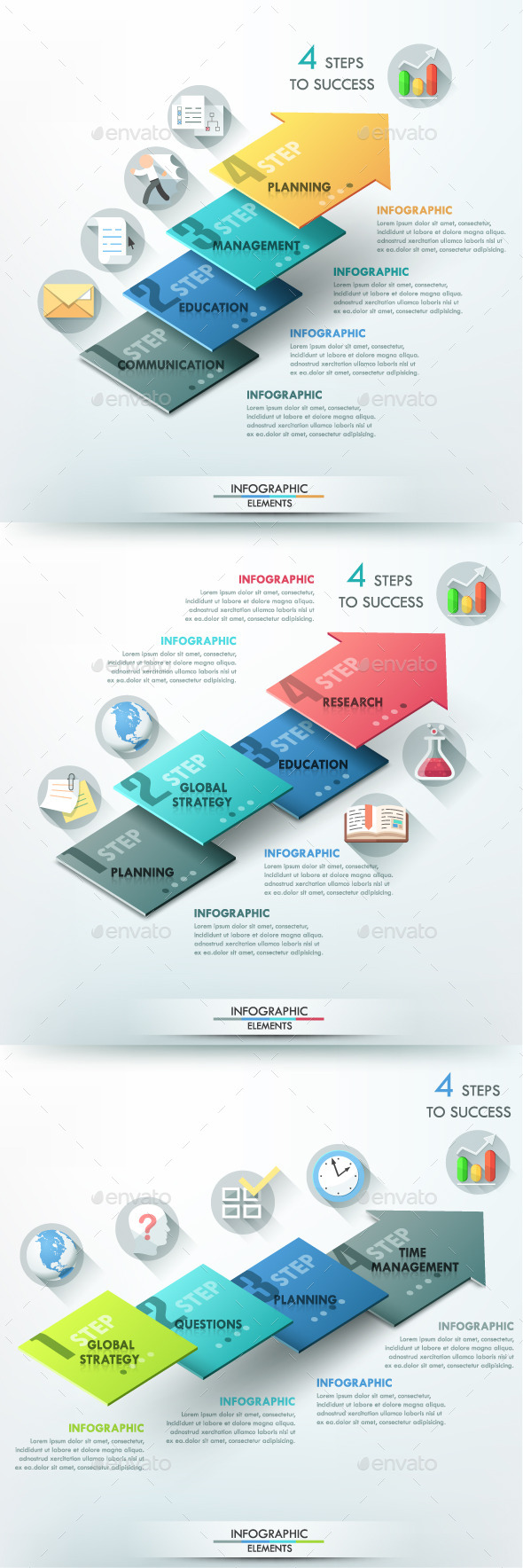 GraphicRiver Modern Infographic Options Template 3 Items 10443902