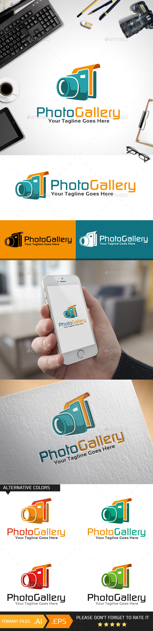 GraphicRiver Photo Gallery Logo Template 10443940