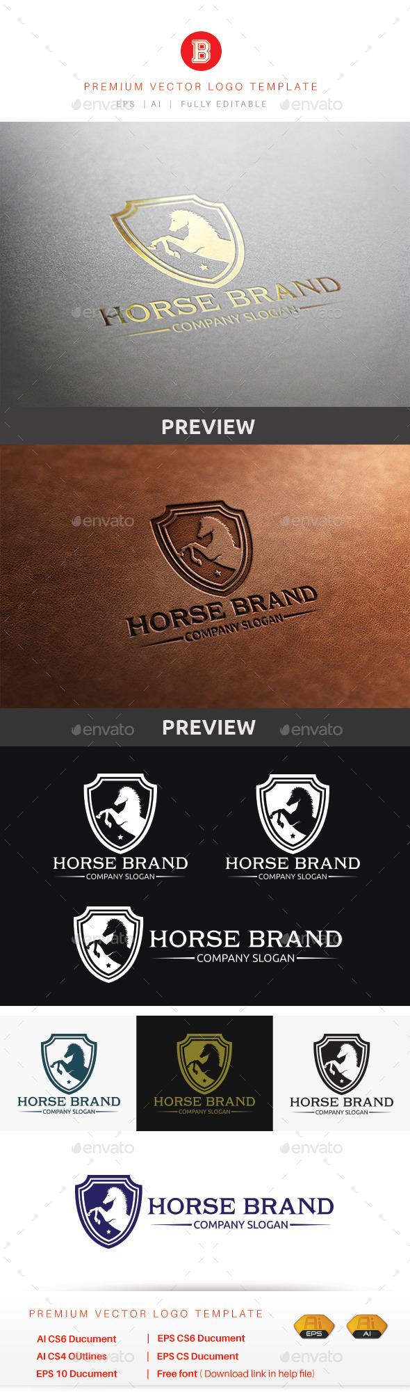 GraphicRiver Horse Brand 10444351
