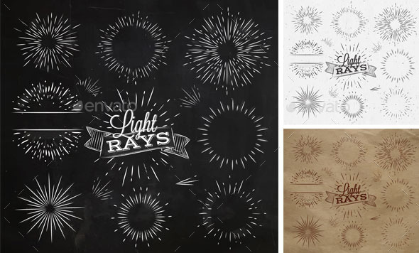 GraphicRiver Light Ray Chalk 10444458