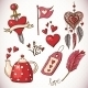 Valentines Day Doodle Set - GraphicRiver Item for Sale