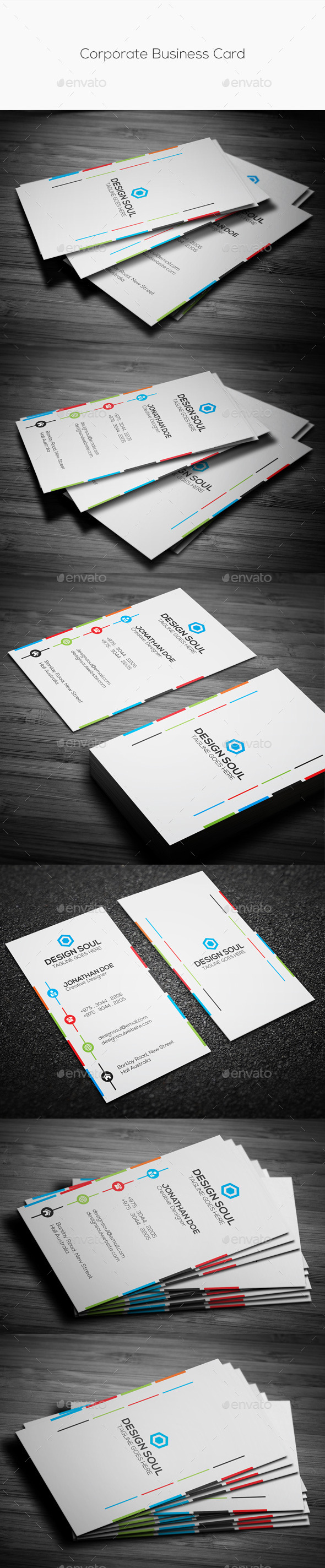 GraphicRiver Corporate Business Card 10444978