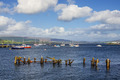 Boats moored in Gourock Bay - PhotoDune Item for Sale