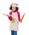 Little pastry girl with a tray of muffins - PhotoDune Item for Sale