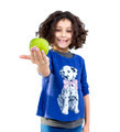 Little girl with apple - PhotoDune Item for Sale