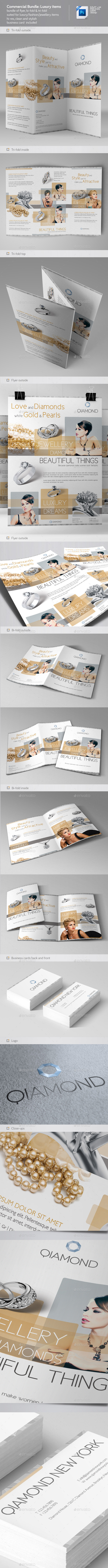 GraphicRiver Commercial Flyer Bundle 1 Luxury Items 10445678