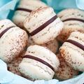 Chocolate macarons - PhotoDune Item for Sale