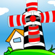 cartoon animated wind mill - ActiveDen Item for Sale