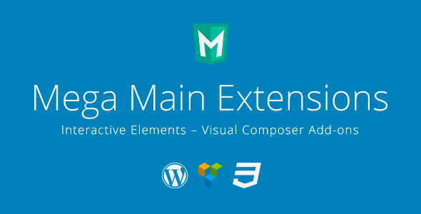 CodeCanyon Mega Main Extensions Interactive VC Addons 10379744